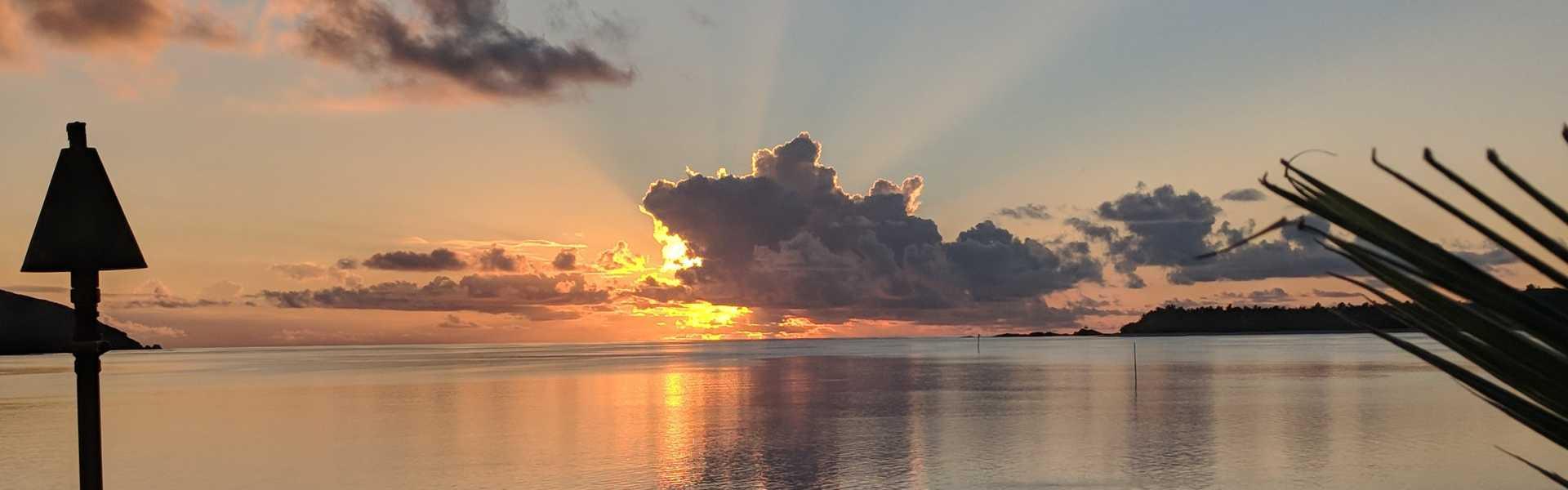 Yasawa Island Sunset